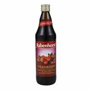 RABENHORST Cranberry Juice No Sugar (750ml)