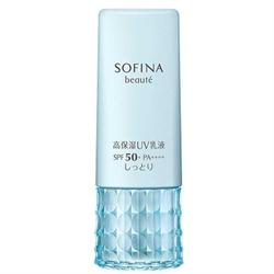 SOFINA高保濕活膚防曬乳液SPF50+ PA++++(滋潤型)30g 4901301325327